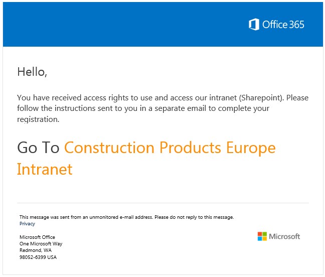 SharePoint email 1