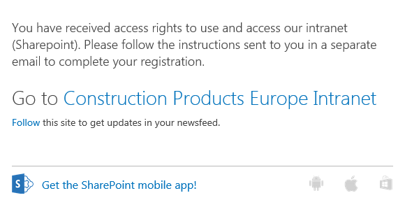 SharePoint email 2